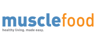 £10 off your first order with Musclefood Logo